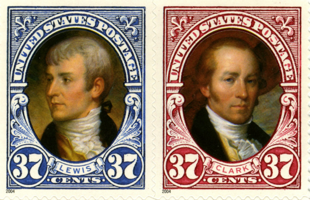 Lewis and Clark stamps small